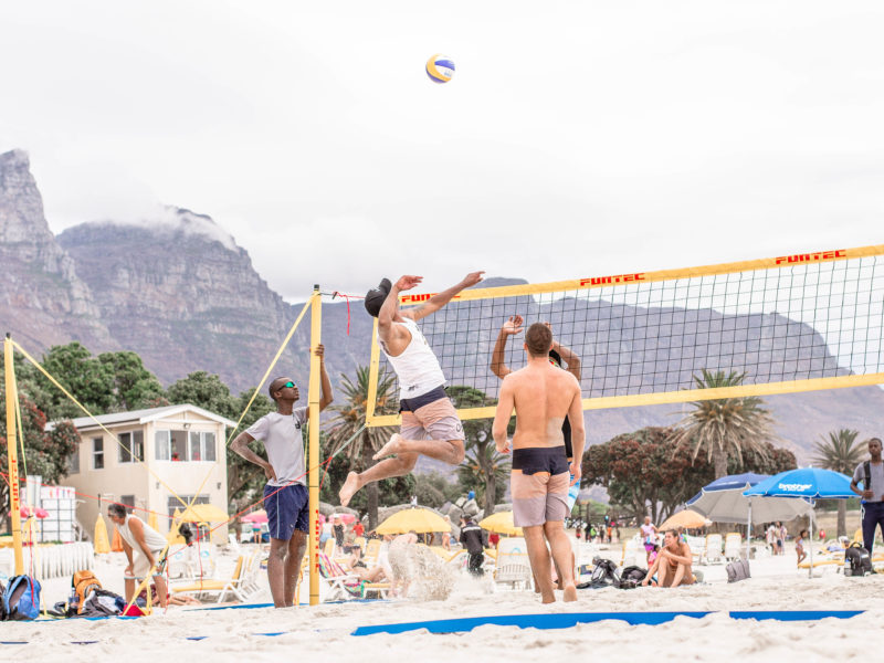 Beach Volleyball Cape Town Video