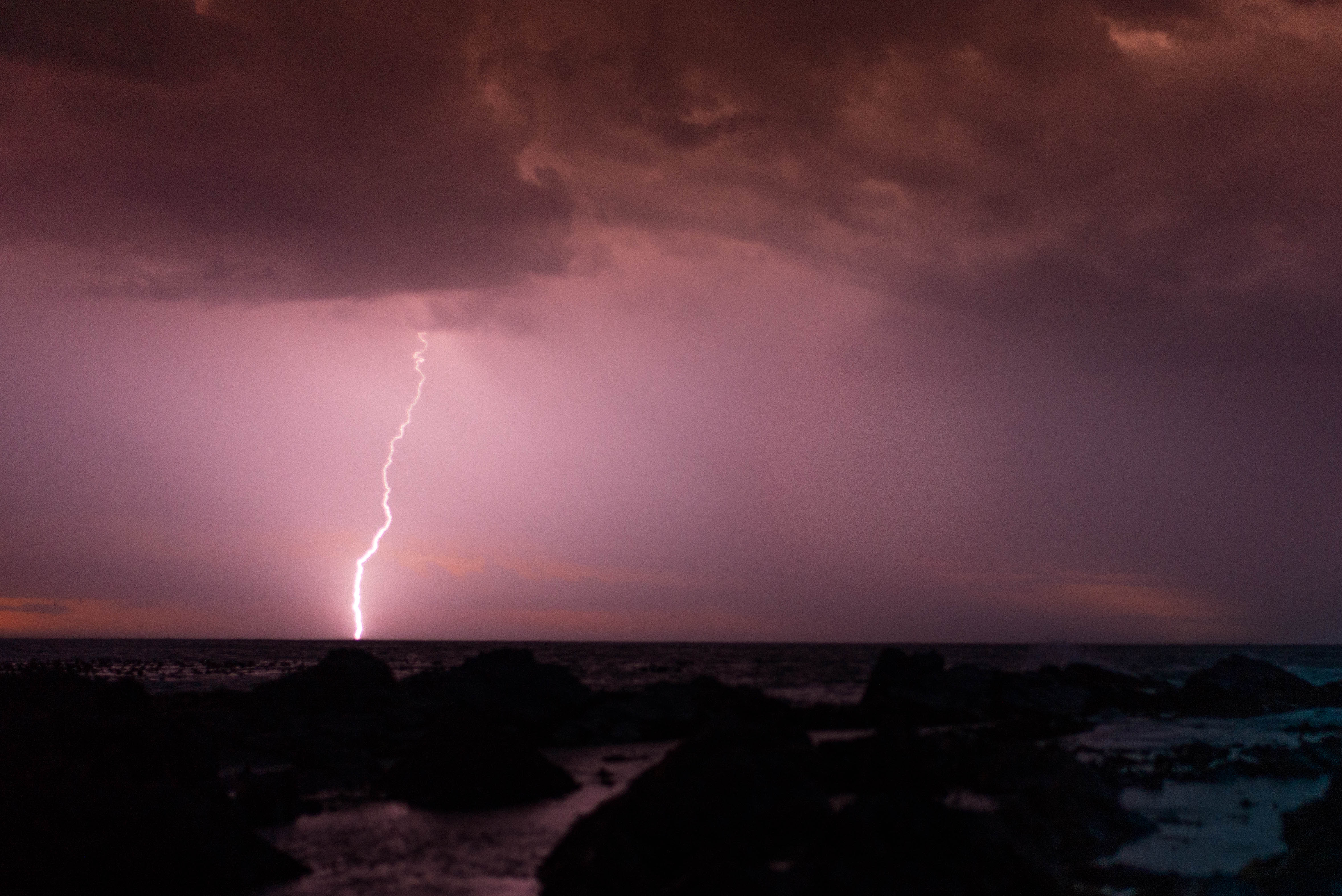 Cape Town Lightning Storm